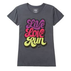 Camiseta manga corta running, mujer - Brooks Live Love Run SS