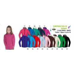 Forro polar para niñas, SURPRISE FULL JUNIOR Techpolar Polar Fleece