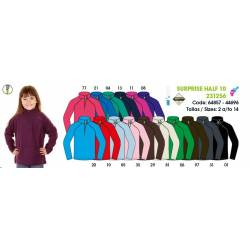Forro polar niños, SURPRISE HALF 10 JUNIOR, Techpolar Polar Fleece