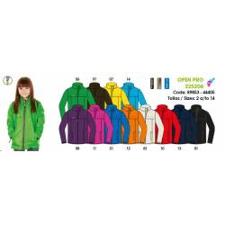 Chaqueta Impermeable Unisex Junior - OPEN PRO Nylonlight Thermosealed Tape Sport