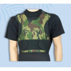 Chaleco proteccion camuflaje para airsoft y paintball