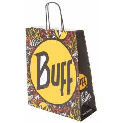 Bolsas de compras de papel - BUFF BAG 2012 FLAT IS BORING