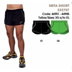 Pantalones cortos hombres, META SHORT - Runstretch Team Sports