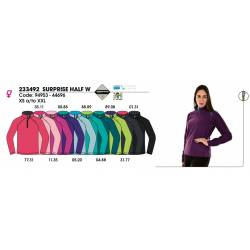 Forro polar para mujeres, SURPRISE HALF 10, Techpolar Polar Fleece