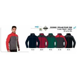 Forro polar para hombres, POLAR PLUS 330, Techpolar 2 Capas Polar Fleece