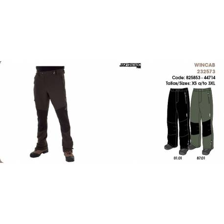 Pantalones para hombres, WINCAB, SoftStretch Pants
