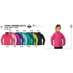 Forro polar para niñas, SURPRISE HALF 10 JUNIOR, Techpolar Polar Fleece