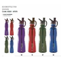 Botella ecológica de acero inoxidable - ECOBOTTLE 750