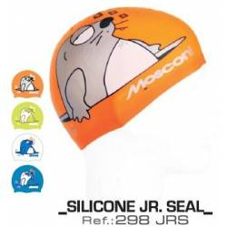 Gorro natacion silicona Mosconi JR Seals junior