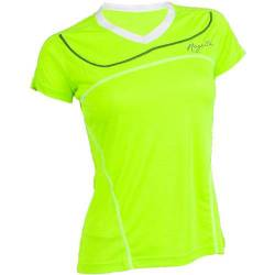 Lds Running T-Shirt Miral Fluor/White/Black Mujer